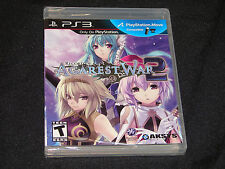 Record Of Agarest War 2 for Playstation 3  PS3 Game  ***NEW SEALED***