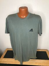 Mens Adidas Techfit S/S Athletic T-Shirt Size Extra Large Xl - Green - Polyester