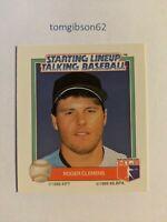 1988 Starting Lineup Talking Baseball Roger Clemens #27 Free Shipping