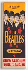 Beatles Shea Stadium FRIDGE MAGNET (1.5 x 4.5 inches) concert poster