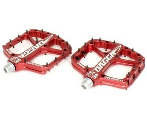 Chromag Dagga Mountain Bike Pedals, Red