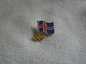 Tokyo 2020 - NOC Iceland Olympic Committee pin model-1