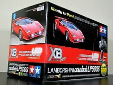 Rare New Tamiya 1/10 RC Red Lamborghini Countach LP500S XB Expert Build #57780