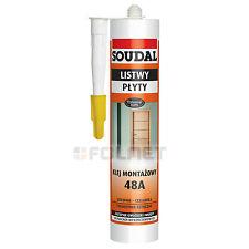 dauerelastischer polímero híbrido Pegamento / Tela Soudal 48a madera y cerámica