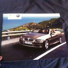 2006 BMW 328i and 335i Convertible USA Market Sales Brochure Prospekt