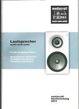 Mediacraft catalogo multi-room-AUDIO CASSE AMPLIFICATORE ACCESSORI 48 pagine MULTIROOM