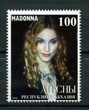 Madonna mnh Stamp 1998 Abkhazia Singer Celebrity