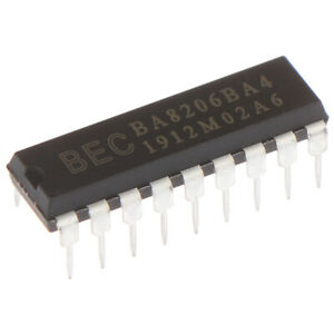 1Pcs BA8206BA4 BA8206BA4K Fan Power Chip Integrated DIP^dm