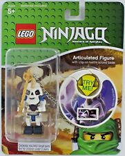 Lego NINJAGO NUCKAL Figure Spinjitzu Master Weapon Clip-on Battle Sound Green