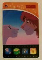 Woolworth's Disney Movie Stars Card 35 - Simba, Nala The Lion King