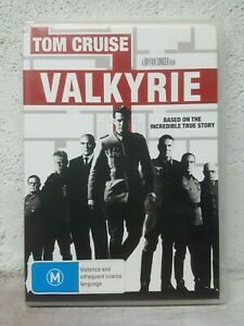 Valkyrie DVD Tom Cruise - The Attempt to Kill Hitler - Incredible True Story