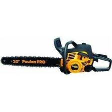 Poulan Pro PP5020AV 20-In 50cc 2 Stroke Gas Powered Chain Saw With Carrying Case