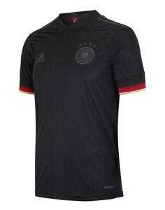 Germany 2021 Away Black Jersey