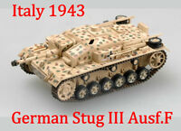 Easy Model 1/72 Germany Stug III Ausf.F ,Italy 1943 Plastic Tank Model #36147