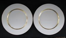 "Theodore Haviland New York ""Claridge"" 2 Dinner Plates 10 3/4"" Limoges"