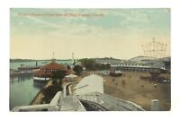 Hanlans Point Dips Toronto Ontario Canada Unposted Written On Postcard E542