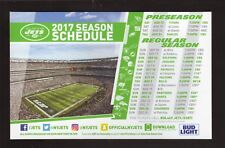 New York Jets--2017 Magnet Schedule--MetLife Stadium