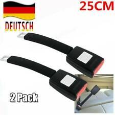 2x Universal Auto Sitz Gürtel Extender Sitz Sicherheit Verlängerung Schnalle DHL