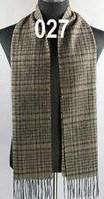 New Mens Long Warm Soft Cashmere wool Plaid TARTAN SCARF Checked Shawl 149027
