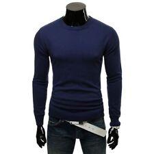 Jersey de hombre en color principal azul 100% algodón