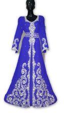Dubái Boda Vestido Jilbāb Árabe Exclusivo Marroquí Vestido Kaftán para Mujer