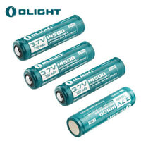 4 X OLIGHT 14500 750mah 3.7V Protected Rechargeable Li-ion Eelectric Battery US