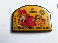 BVB 09 BORUSSIA Dortmund - 25 Jahre Revierfreunde - Pin. 22 x 17 mm.