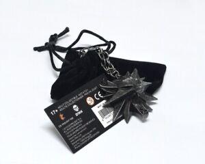 The Witcher 3: Wild Hunt Necklace III Geralt Medallion Pendant Wolf Head Chain
