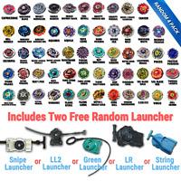 Beyblade Random 4 Pack Collection w/ Free 2x Random Bayblade Launcher US Shipped