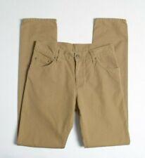CARHARTT Men Jeans W30 L34 Ziggy Gladwin Canvas Brown Wash Engineered Workwear