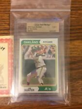 1974 Topps #7 Jim Hunter Oakland Athletics Topps Vault Mint One Of A Kind