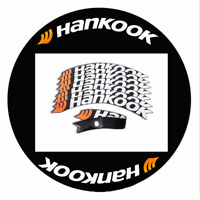 8 Pcs HANKOOK Permanent Tire Lettering Decals Stickers 1.25 inch For 15''-22''