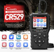 LAUNCH CR529 EOBD OBD2 Diagnostic Scan Tool Car Check Engine Fault Code Reader
