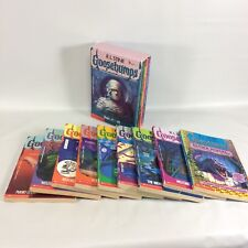 R L Stine Goosebumps Books 1 Boxed Set Plus Loose Paperbacks Lot of 13
