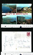 MONTE FAITO (NA) - SALUTI DALLA LOCALITA' CON VEDUTE VARIE - 55660