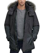 Marc New York Mens Jacket Gray Size XL Sherpa Full-Zip Colorblock $199 #106