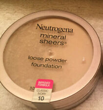 New ! Neutrogena® Mineral Sheers Loose Powder, Classic Ivory 10