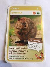 Taronga Zoo Woolworths Aussie Animal Card #5 Quokka