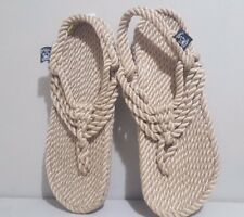 Urban Outfitters Nomadic State of Mind Jester sandals Rope Camel Tan 8 NEW