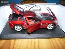 Maisto 2014 Chevrolet Corvette 1:18 Diecast Car neuve avec boite très bon état