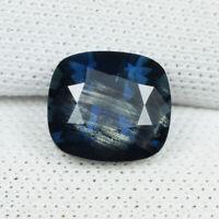 1.85 ct DAZZLING DEEP GREENISH  BLUE NATURAL SAPPHIRE UNHEATED  See Vdo 4160 SL