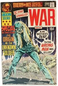 💎 1970 DC STAR SPANGLED WAR STORIES #154 The Origin of the Unknown Soldier VG