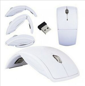 Ultra Thin Optical Mouse USB Foldable Arc For Microsoft Surface Pro 4 Wireless