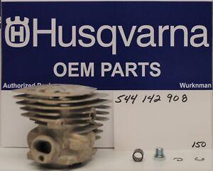 Genuine OEM 544142908  Husqvarna 346XP Cylinder kit 544 14 29-08 New