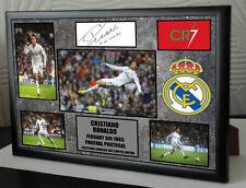 Ronaldo 2 o 3 firmado tributos Enmarcado Oferta Especial 2 por £ 31 o 3 por £ 44