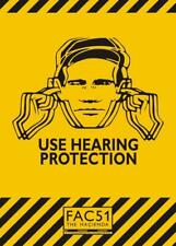 Use Hearing Protection (The Hacienda/Factory Records) - Miniature Poster Print