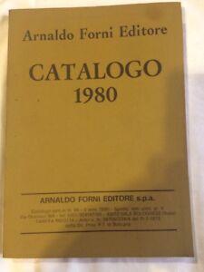 Libro Catalogo 1980, Arnaldo Forni Editore