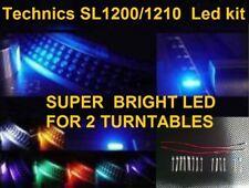 Technics Turntable 1200 / 1210 Super Bright Blue Led Kits X 2
