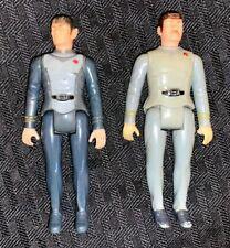 "Star Trek Mego 3 3/4"" Figure Lot: Spock and Scotty"