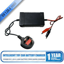 6V 12W Toy Car Intelligent Battery Charger Dustproof Protection Durable New